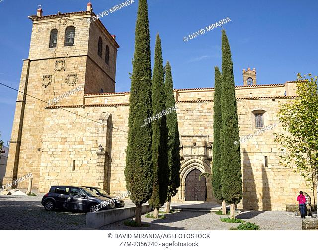 Church of San Pedro Apostol, Garrovillas de Alconétar, Cáceres province, Extremadura, Spain