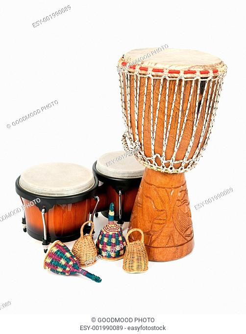 Afro brazilian percussion instrument Stock Photos and Images