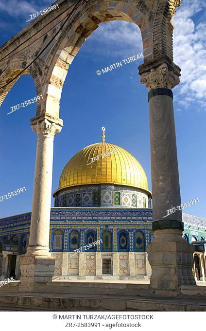 Dome Of The Rock, Temple Mount, Jerusalem, Israel/Palestine
