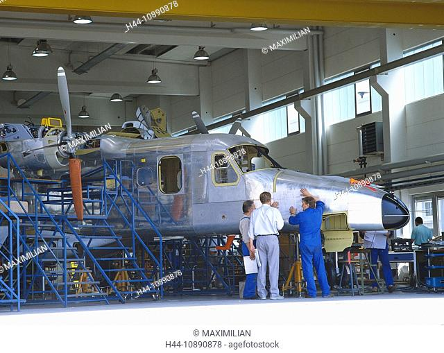 Adult, Aeroplane, Aircraft, Assembling, Assembly, Aviation, Building, Cooperation, Collaboration, Engineer, Engineering, Europe