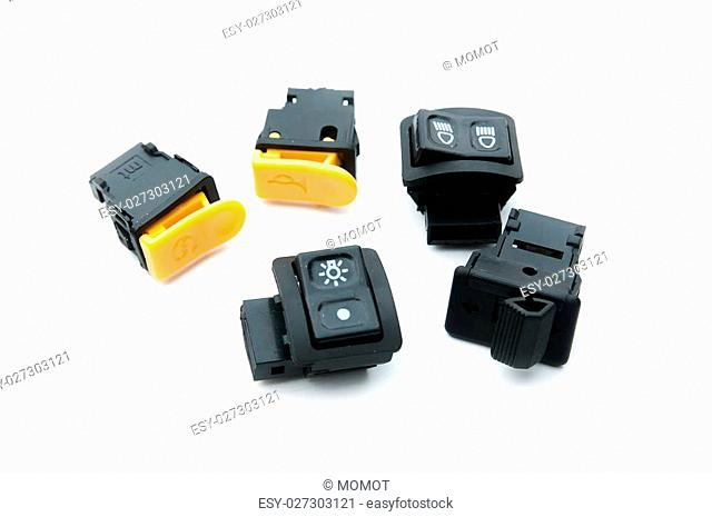 set of toggle switches and switches, electronics motorcycle spare part