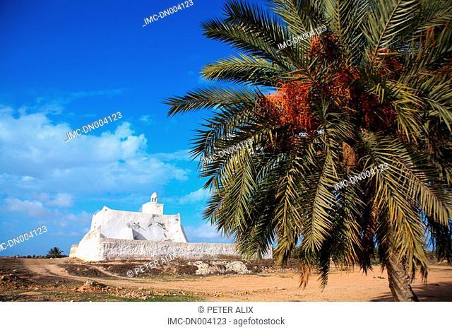 Tunisia, Djerba island, Guelalla, Sidi Yati mosque