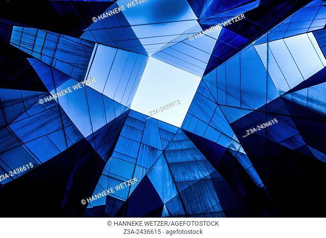 Museu Blau, Forum Building by Herzog & de Meuron, Barcelona, Spain
