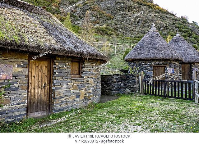 Castro Chano Interpretation Center. Valley of Fornela. The Ancares. Province of León. Castilla y León. Spain
