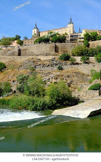 El Alcazar Toledo Spain ES Walled City Castilla-La Mancha