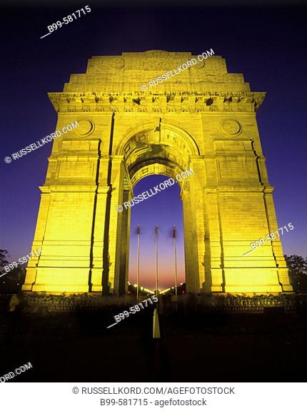 India Gate Arch, New Delhi, India