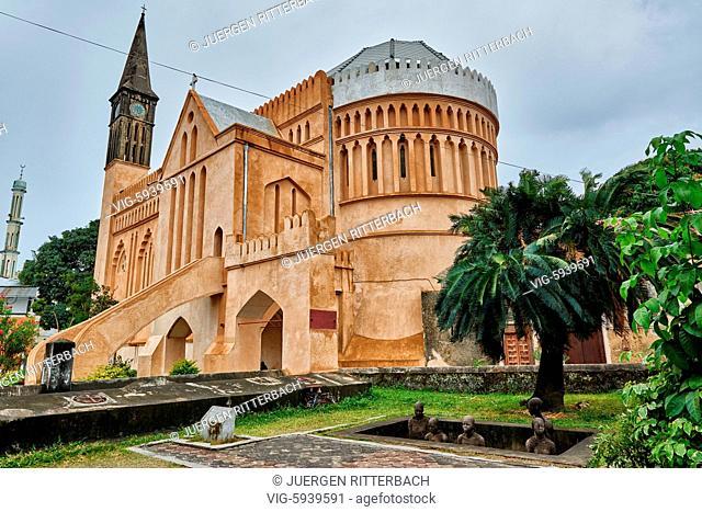 Anglican Cathedral in Stone Town, UNESCO World Heritage Site, Zanzibar, Tanzania, Africa - Stone Town, Zanzibar, Tanzania, 31/10/2015