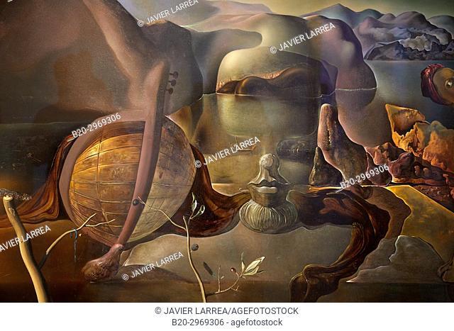 The Endless Enigma, 1938, Salvador Dalí, Museo Nacional Centro de Arte Reina Sofia, Madrid, Spain, Europe