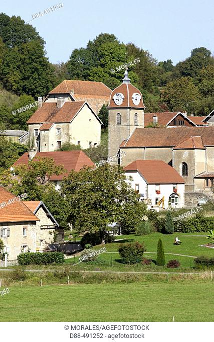 Vellechevreux-et-Courbenans. Franche-Comté. France