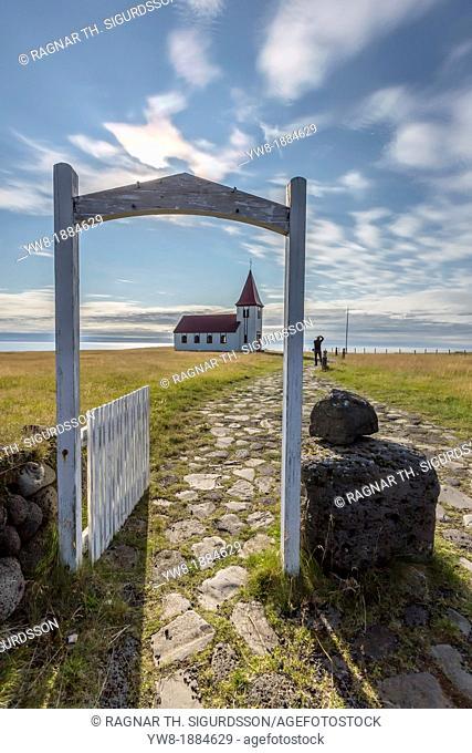 The Church of Hellnar, Hellnar, Snaefellsnes Peninsula, Iceland