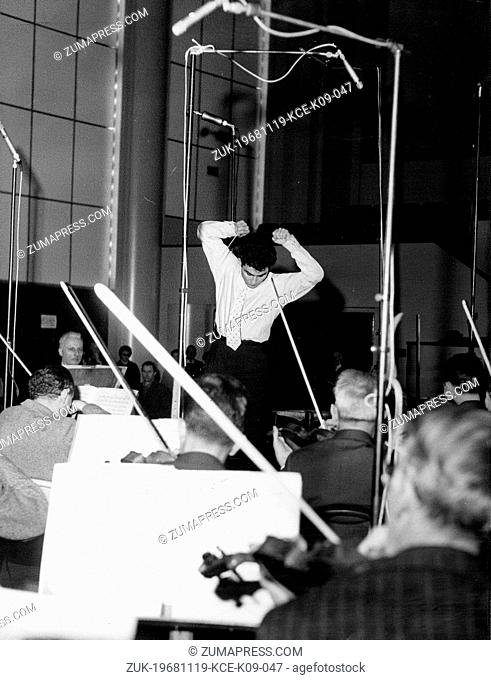Nov 19, 1968; Paris, France; French Musician ROBERTO BENZI has been directing orchestras since he was eight years old. (Credit Image: © Keystone Press...