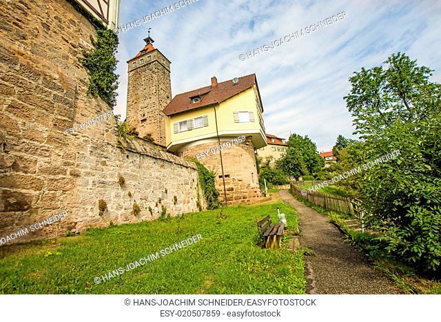 castle of Waldenburg, Germany