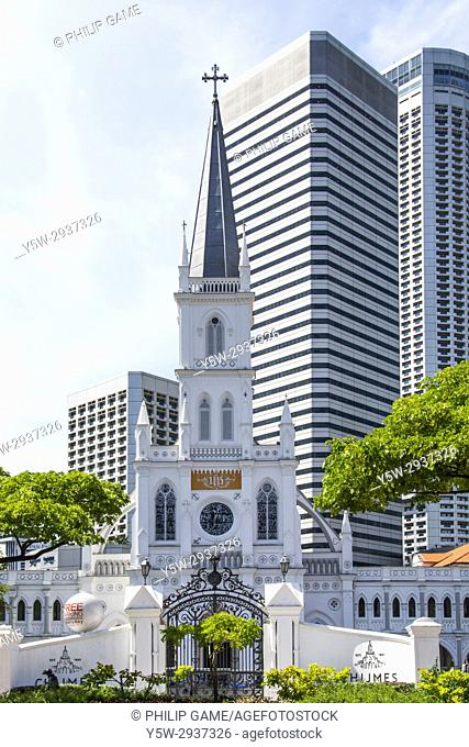 Chijmes is a 19th-century convent and school complex now redeveloped. Victoria Street, Singapore