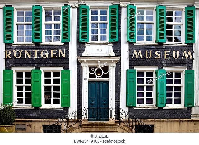 German Roentgen Museum, Germany, North Rhine-Westphalia, Bergisches Land, Remscheid