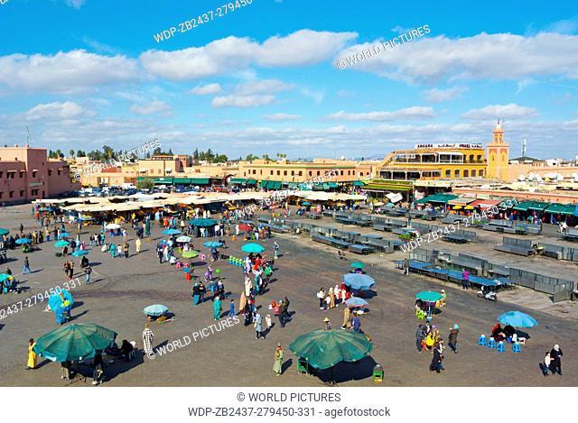 Jemaa el-Fnaa, medina, Marrakesh, Morocco, northern Africa