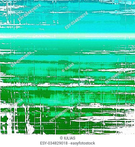 Designed grunge texture or background. With different color patterns: blue; green; white; cyan