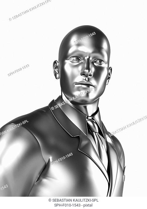 Businessman, computer artwork