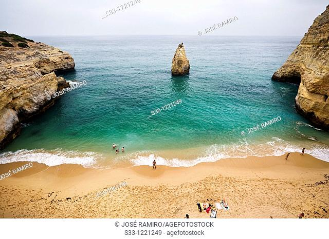 Marina beach Algarve Portugal