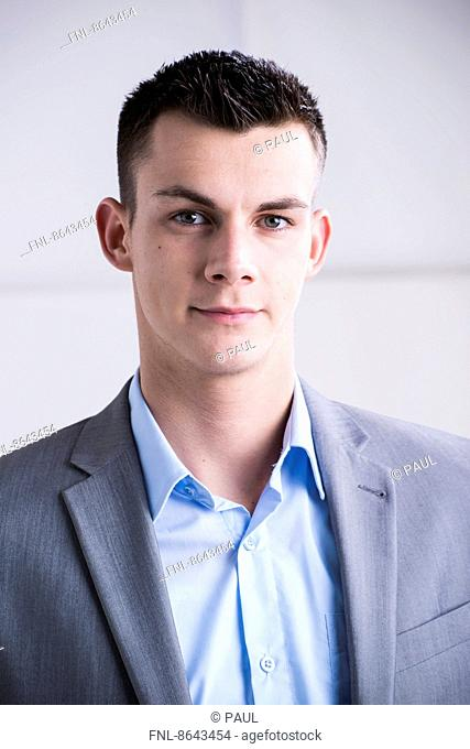 Young businessman, portrait