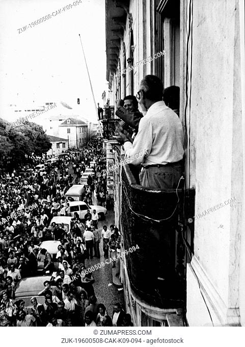 May 8, 1960 - Location Unknown - MARIO SOARES, born December 7, 1924, served as Prime Minister of Portugal and later the 17th President of Portugal from 1986...