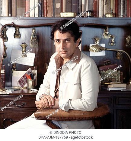 1981, Portrait Of Indian film actor Shashi Kapoor