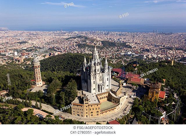 Tibidabo and Barcelona