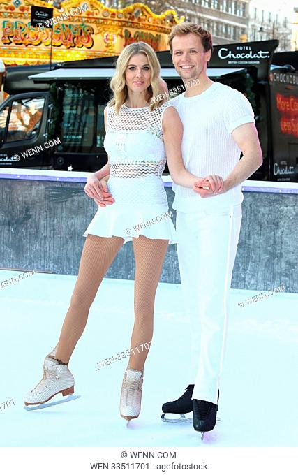 Dancing On Ice 2018 photocall at the Natural History Museum Ice Rink Featuring: Donna Air, Mark Hanretty Where: London, United Kingdom When: 19 Dec 2017 Credit:...