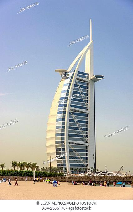 Burj al Arab hotel. Dubai. United Arab Emirates