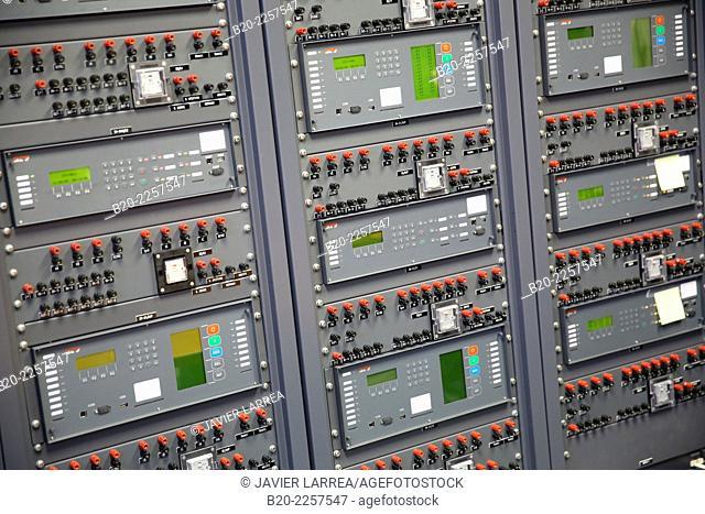 Protection, Control and Metering for power lines, transforms, generators and feeders. Euskadiko Parke Teknologikoak. Zamudio. Bizkaia. Basque Country