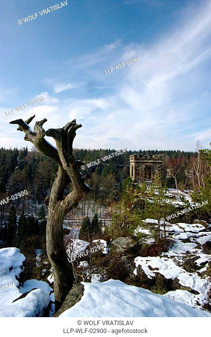 Bielablick Lookout, Saxon Switzerland, Saxony, Germany