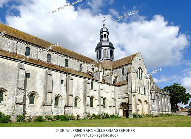 Abbey of Saint-Germer-de-Fly, Département Oise, Picardie, France