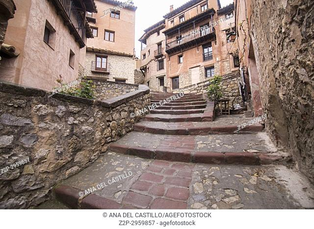 Albarracin is one of the most beautiful villages in Teruel, Aragon, Spain