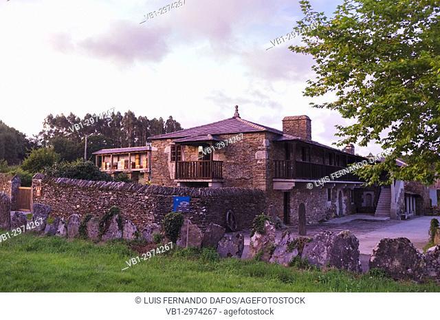 Casa Berdeal hotel and tourist rural house in Mañón, Coruña province, Galicia, Spain, Europe