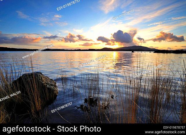 Lough Conn Sunset