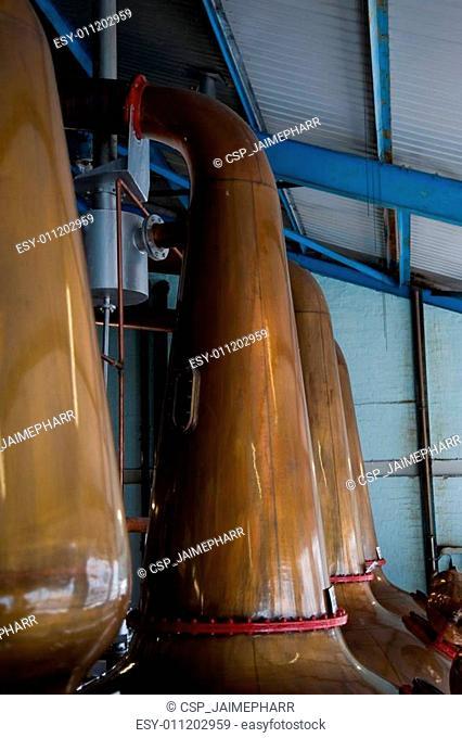 Islay Whisky Wash Stills
