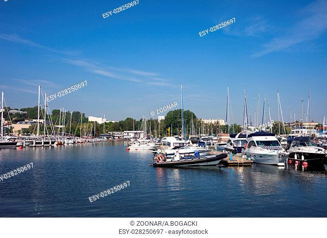 Marina in Gdynia