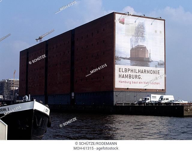 Kaispeicher A, künftige Elbphilharmonie, 2007