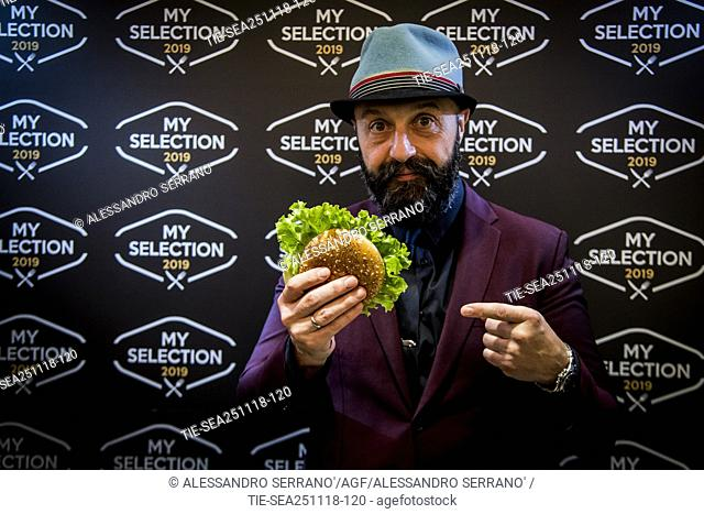 The restaurateur Joe Bastianich during the presentation of the new 'My selection 2019' of Mc Donald's in Rome ,ITALY-26-11-2018