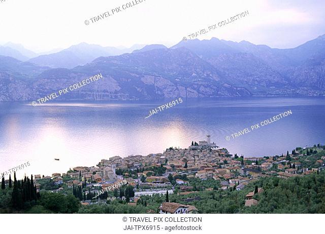 Italy, Lake Garda, Malcesine