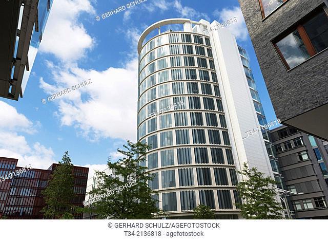 New Buildings at HafenCity Hamburg, Germany
