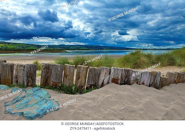 Coastal Protection on the Cunnigar, Dungarvan Bay, County Waterford, Ireland