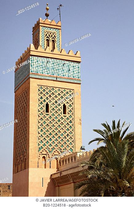 Mosquée Moulay Al Yazid, Saadian Tombs, Medina de Marrakech, Marruecos