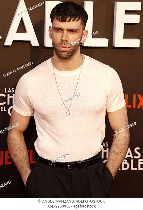 Premiere of the Netflix series Las chicas del cable.Fernando Valdivielso.Madrid. 27/04/2017.(Photo by Angel Manzano).