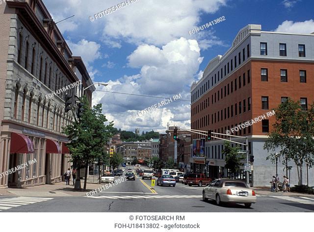 Bangor, Maine, ME, Downtown Bangor