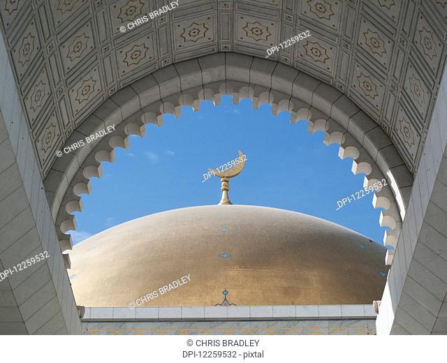 Saparmurat Niyazov (Turkmenbashi) mosque, near Ashgabat; Turkmenistan