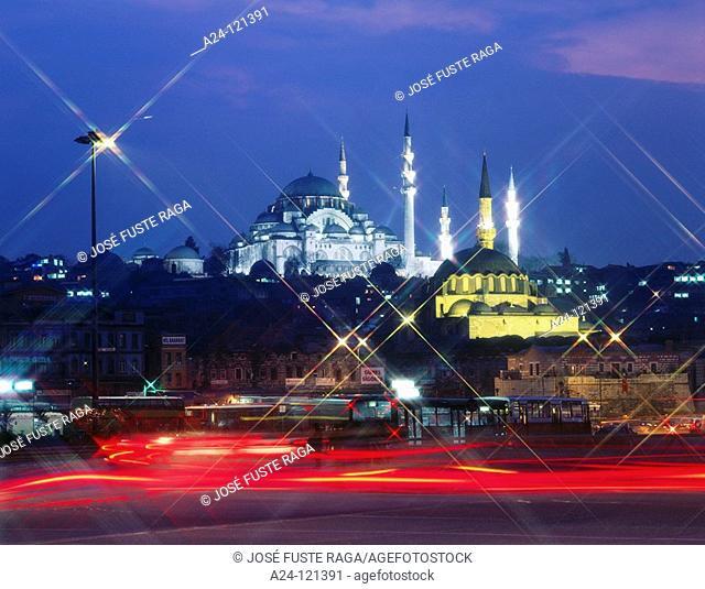 Suleimeniye Mosque. Istanbul. Turkey