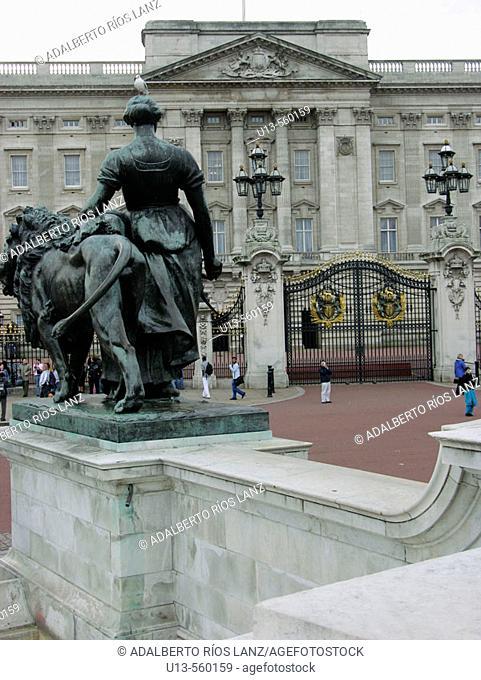 Buckingham Palace, London. England, UK