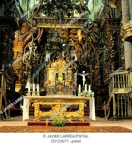 Cathedral. Santiago de Compostela. Galicia. Spain