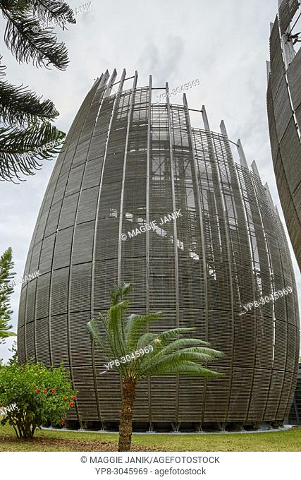 Jean-Marie Tjibaou Cultural Centre in Noumea, New Caledonia