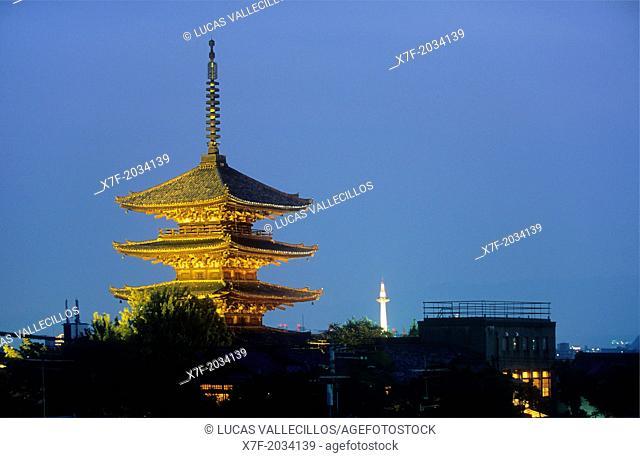 Yasaka pagoda,Kyoto, Japan